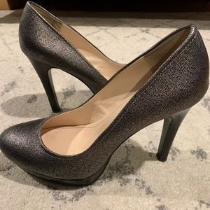 Calvin Klein Metallic pumps